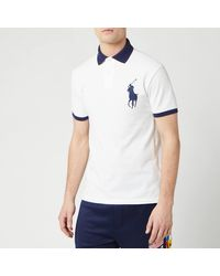 Polo Ralph Lauren Short Sleeve Big Pony Polo Shirt - White