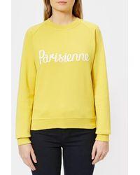 Maison Kitsuné - Women's Parisienne Sweatshirt - Lyst