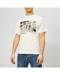 Satisfy Willie Nelson Moth-eaten Cotton T-shirt - White