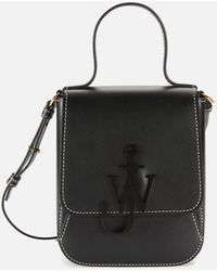 JW Anderson Top Handle Anchor Bag - Black