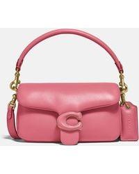 COACH Pillow Tabby Shoulder Bag 18 - Pink