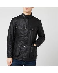 Barbour Duke Wax Jacket - Black