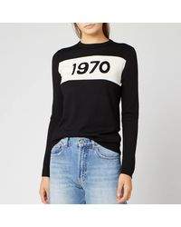 Bella Freud 1970 Merino Jumper - Black