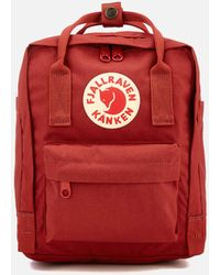 Fjallraven Kanken Mini Plum - Red