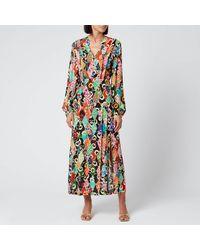RIXO London Autumn Dress - Multicolor