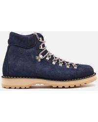 Diemme Roccia Vet Suede Hiking Style Boots - Blue