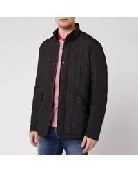 Barbour Heritage Chelsea Sportsquilt Jacket - Black