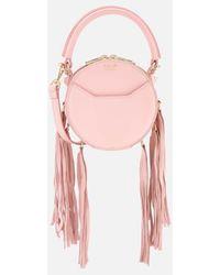 Salar - Women's Lea Fringe Cross Body Bag - Lyst