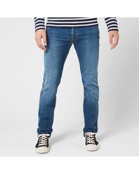 Jacob Cohen Tangerine Badge Slim Denim Jeans - Blue