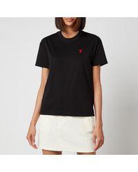 AMI De Coeur T Shirt - Black