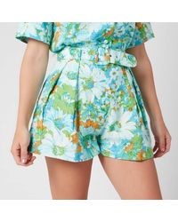 Faithfull The Brand Priscilla Short - Blue