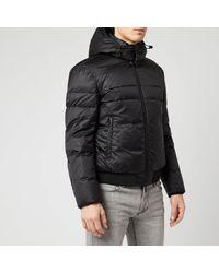 Emporio Armani Puffa Jacket - Black
