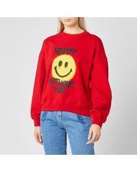 Philosophy Di Lorenzo Serafini Happy Without You Sweatshirt - Red