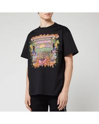 Neil Barrett Art Collage Jody Paulson T-shirt - Black