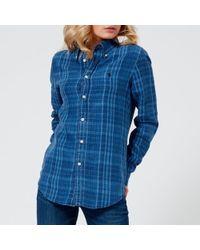 Polo Ralph Lauren - Women's Plaid Shirt - Lyst