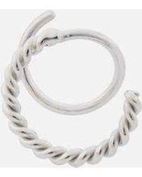 Maria Black - Women's Sofia Twirl Earrings Right - Lyst