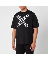 KENZO Sport Oversized T-shirt - Black