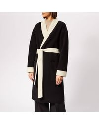 Alexander Wang - Doubleface Robe With Logo - Lyst