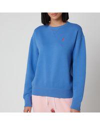 Polo Ralph Lauren Logo Long Sleeve Top - Blue