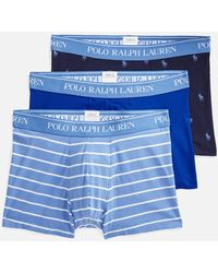 Polo Ralph Lauren - Classic 3-pack Trunks - Lyst