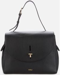 Furla Net Medium Top Handle - Black