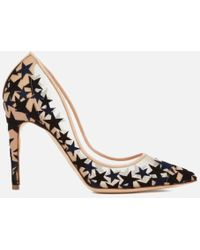 Rupert Sanderson - Twilight Star-embellished Mesh Court Shoes - Lyst