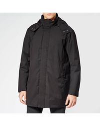 Emporio Armani Trench Coat - Black