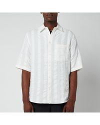 Holzweiler Blyg Short Sleeve Shirt - Multicolor