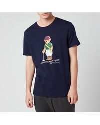 Polo Ralph Lauren Polo Sport Bear T-shirt - Blue