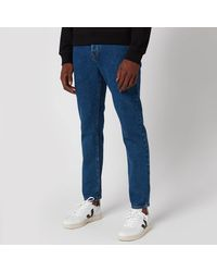 KENZO Stone Washed Slim Jeans - Blue