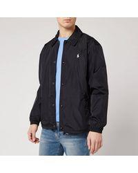 Polo Ralph Lauren Coaches Jacket - Black