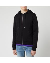 KENZO Sport Zip Up Hoody - Black