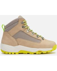 Diemme Cortina Nubuck And Canvas Hiking Boots - Gray
