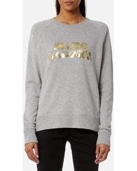 Marc Jacobs - Women's Graphic Logo Sweatshirt - Lyst