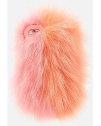 Charlotte Simone Phone Fluff Iphone Case - Pink
