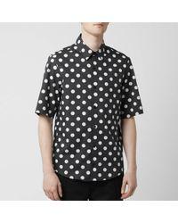 Versus Dot Shirt - Black