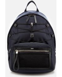 Tod's - Men's Mix Fabric Backpack - Lyst
