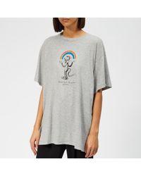MM6 by Maison Martin Margiela - Rainbow T-shirt - Lyst
