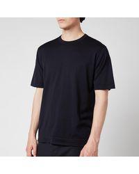John Smedley Lorca Crewneck T-shirt - Blue