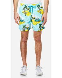 Vilebrequin   Men's Moorea Print Swim Shorts   Lyst