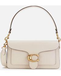 COACH Tabby Shoulder Bag 26 In Light Beige Calfskin - Multicolour