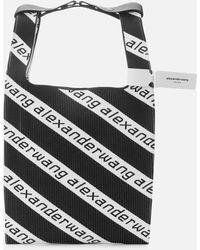 Alexander Wang Knit Medium Shopper - Black