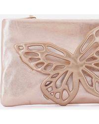 Sophia Webster Flossy Crystal Clutch Bag - Multicolour