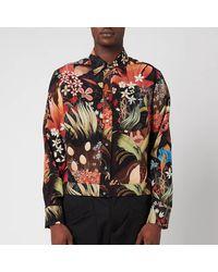 Lanvin Silk Blouson Shirt - Multicolor
