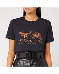 COACH Rexy And Carriage T-shirt - Black