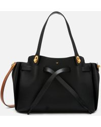 Anya Hindmarch Shoelace Tote Bag - Black