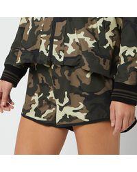 The Upside Camo Run Shorts - Multicolour