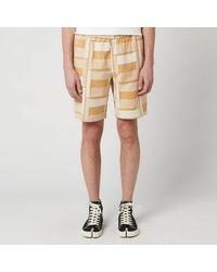 Folk Drawcord Assembly Shorts - Orange