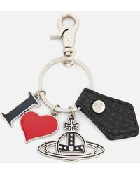 Vivienne Westwood Gadget I Love Orb Keyring - Multicolour