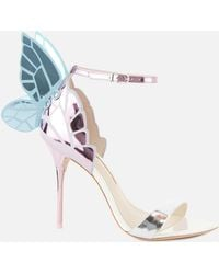 Sophia Webster Chiara Barely There Heeled Sandals - Pink